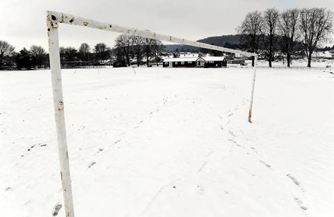 Gazette Series: Chipping Sodbury's ground covered in snow