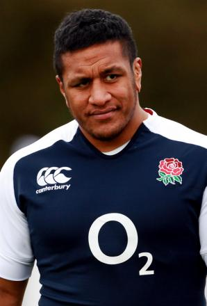 Mako Vunipola scored his first England try against Italy