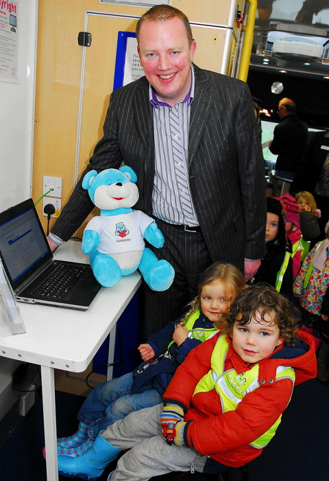 New mobile library for Gloucestershire