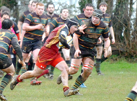 Rugby: Frampton back on track with win over Dursley