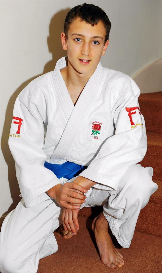 James Hayes is hoping to represent Great Britain at the Olympics in 2020 GSR1380V11
