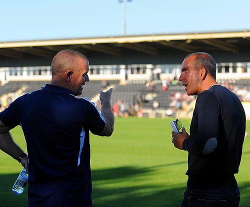 REPLACEMENT? David Hockaday (left) is being tipped to replace Paolo Di Canio (right)  Picture: Carl Hewlett