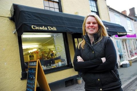 Kirsten Pratt was thrilled with her Christmas sales at Cicada Deli.