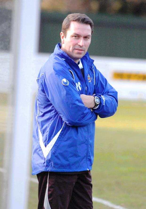 Yate manager Rob Cousins celebrated two years in charge of Yate with win over Didcot GSR1423V12