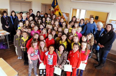 The Dyrham GirlGuiding district which has met for the final time