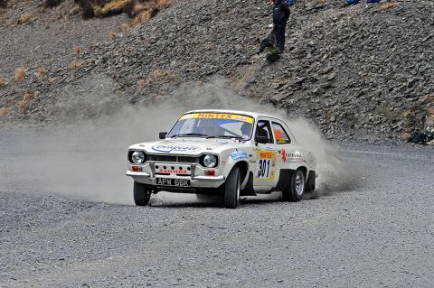 David Stokes on the Pikes Peak Myherin stage .Picture: Mark Chappell (Gasmark Media)