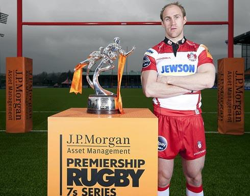 Olly Morgan helped launch the J.P Morgan Premiership Rugby 7s series