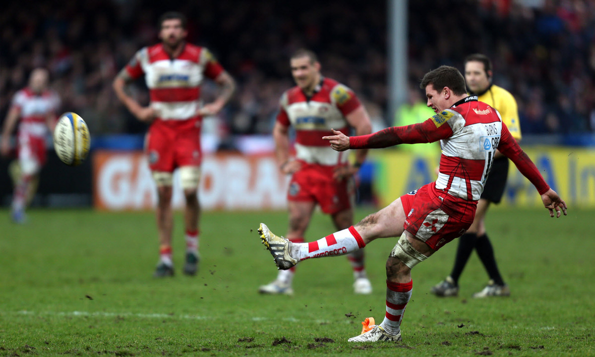 Freddie Burns is leaving Gloucester at the end of the season