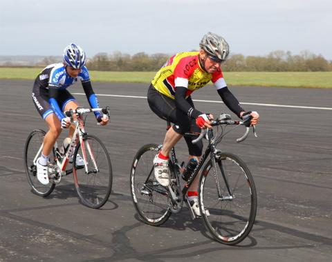 Gazette Series: Etienne Georgi and Colin Lewis in the Devil B race at Navy Cycling Festival