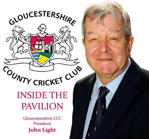 Gloucestershire president John Light