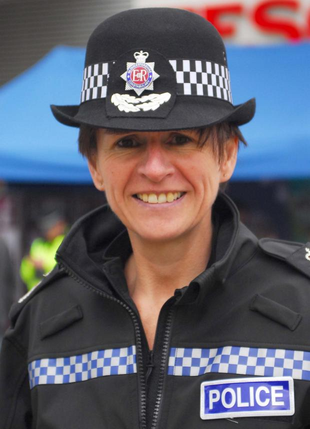 'I'm gay' says Gloucestershire Chief Constable Suzette Davenport