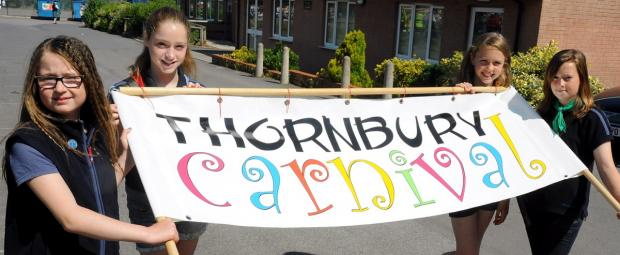 Gazette Series: Thornbury and Alveston guides ready to lead the carnival last year