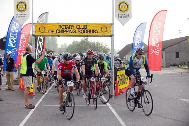 1,000 cyclists set to take part in Sodbury Sportive