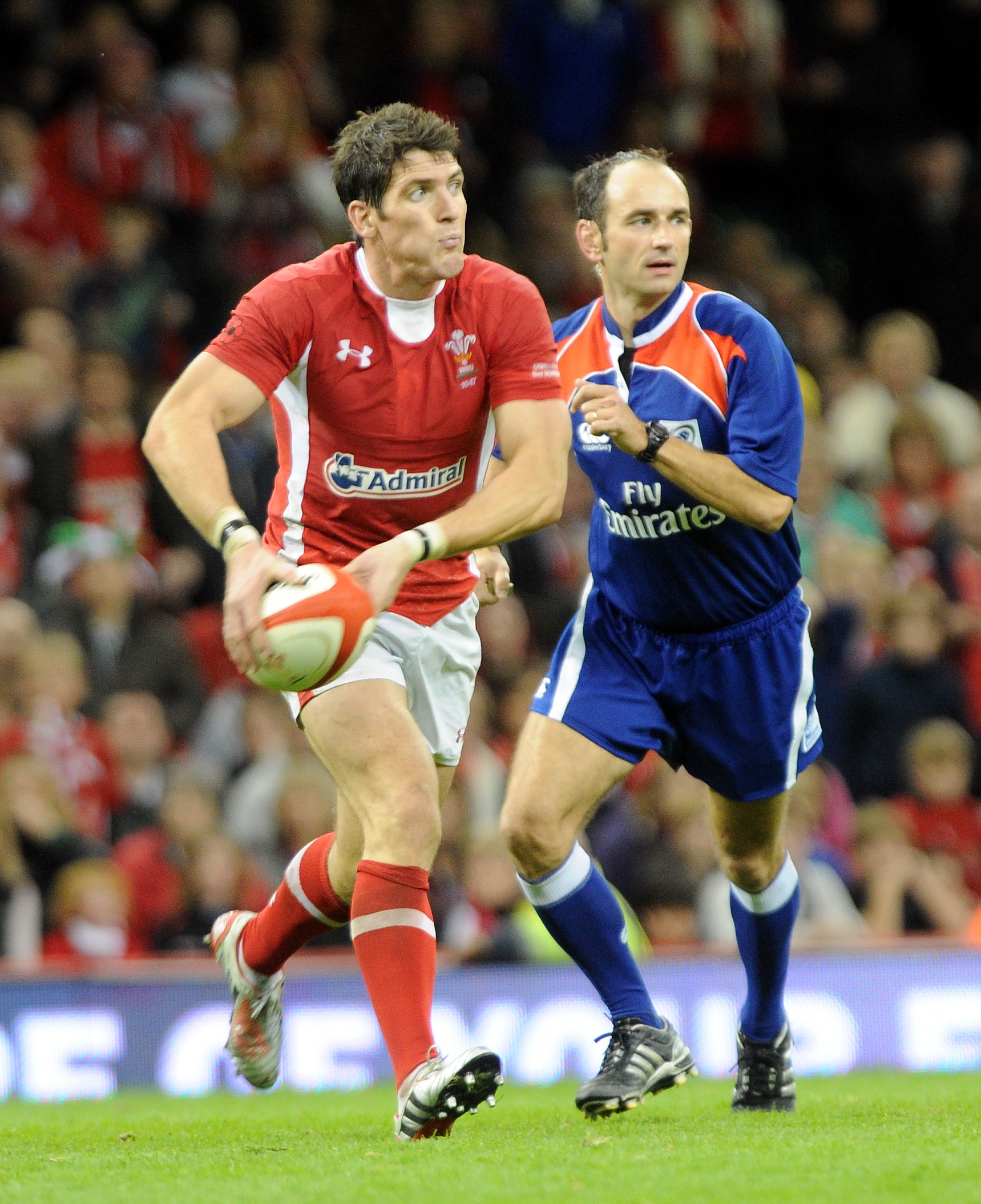 Wales international James Hook