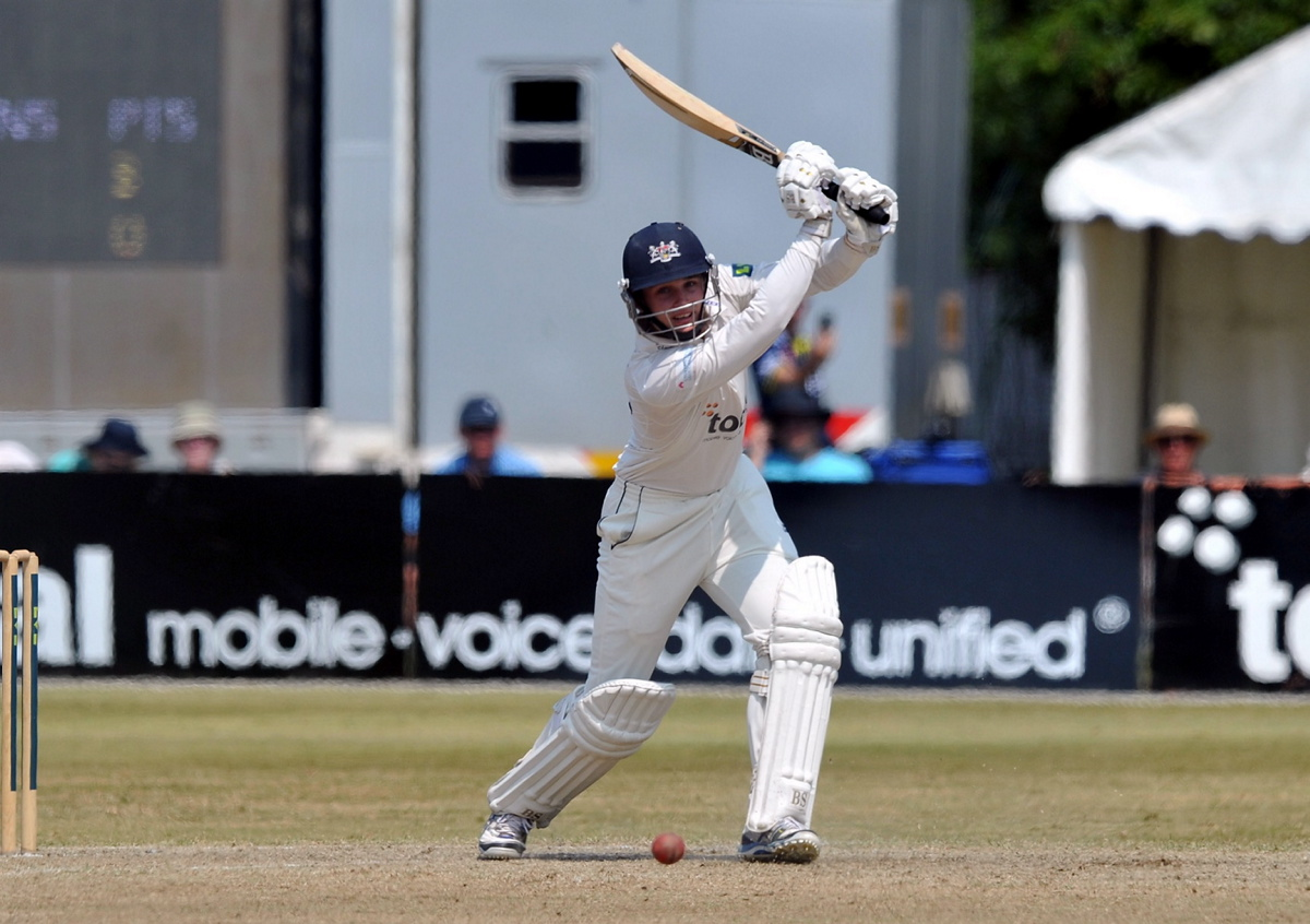 Gloucestershire batsman Gareth Roderick. Picture by Brian Rossiter.