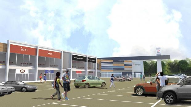 How the Cineworld cinema and shops and restaurants in Yate could look