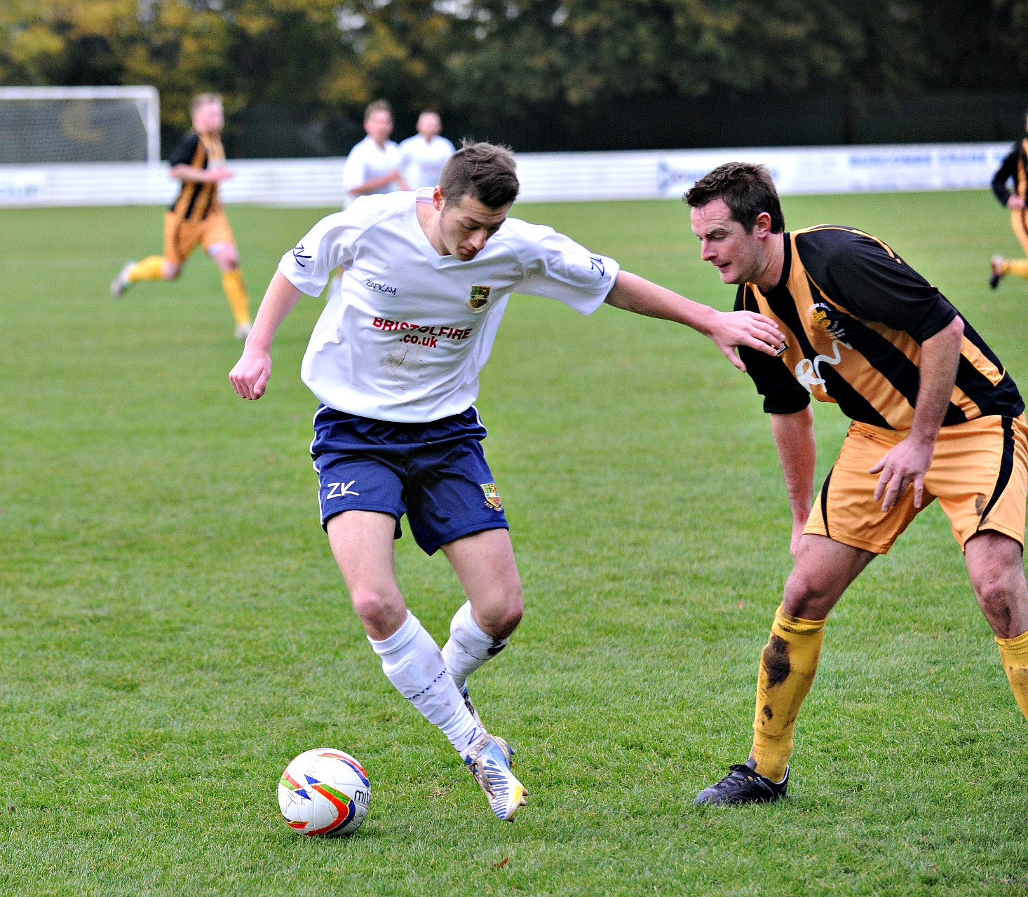 Yate Town striker Jake Jackson scored the opening goal