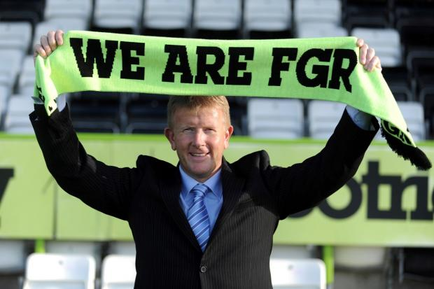 Forest Green are denying any transfer movement