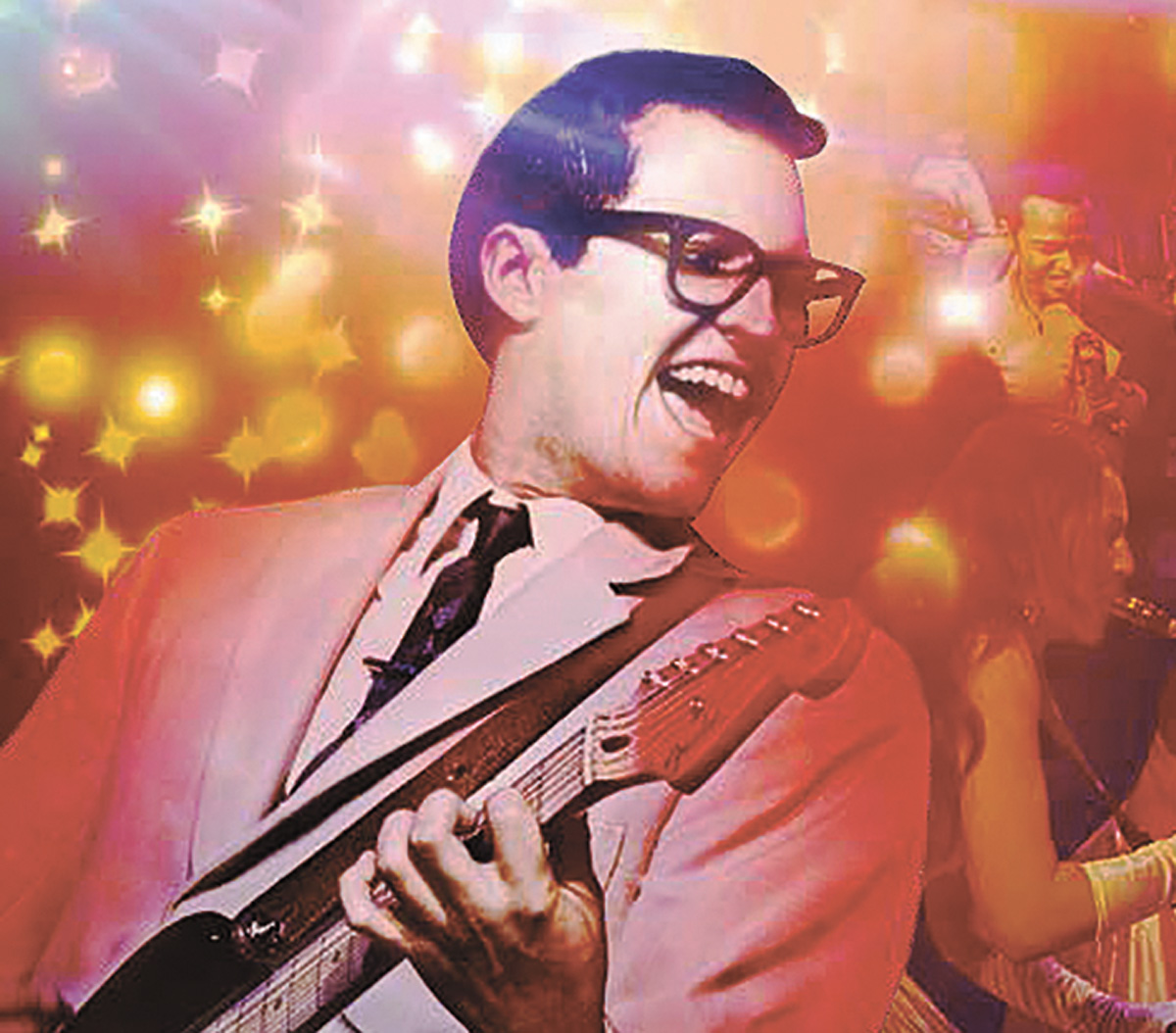 Buddy Holly is a toe tapping musical at the Hippodrome