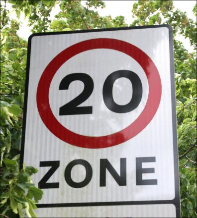 Plans for a 20mph zone in Chipping Sodbury go public