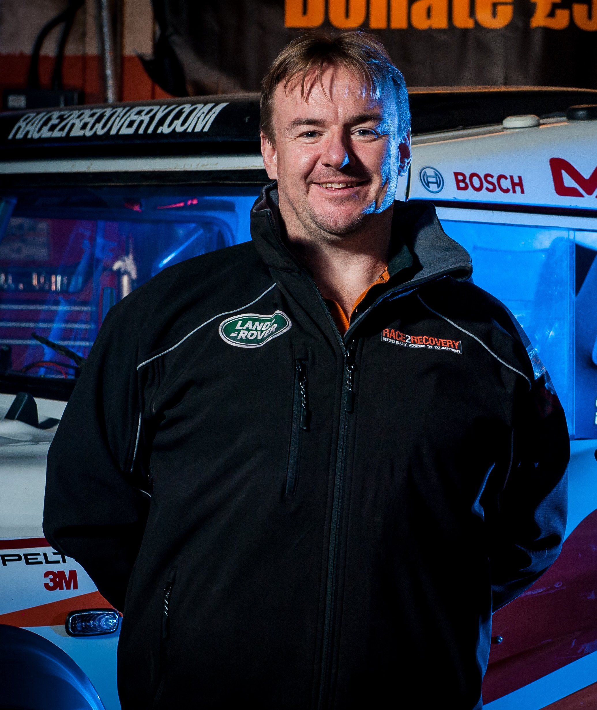 Yate war veteran overcomes crash to compete in 2014 Dakar rally