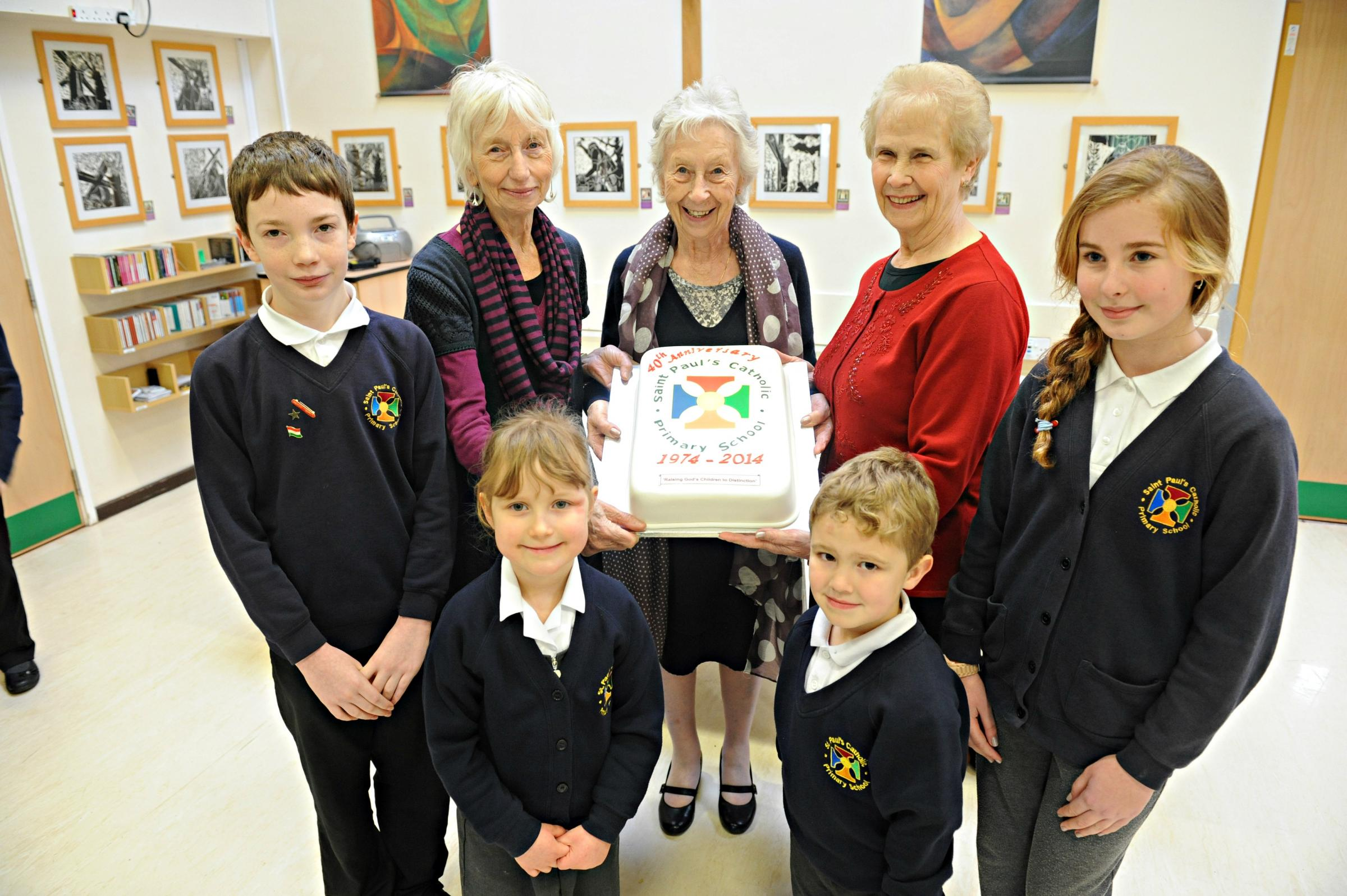 Yate Catholic school marks 40th anniversary