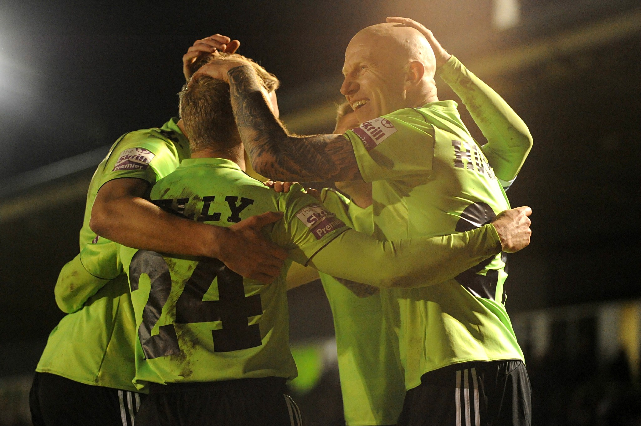 New signing Lee Hughes lays down Forest Green play-off marker