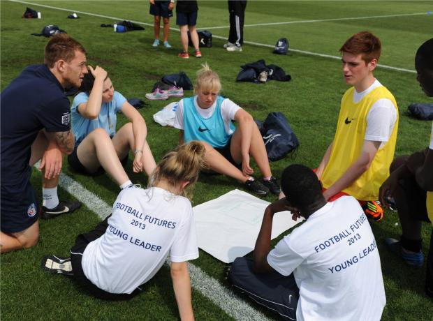 GIVING YOUTH A CHANCE: Young people in the region are being given the opportunity by the Gloucestershire FA to join a new Youth Council.