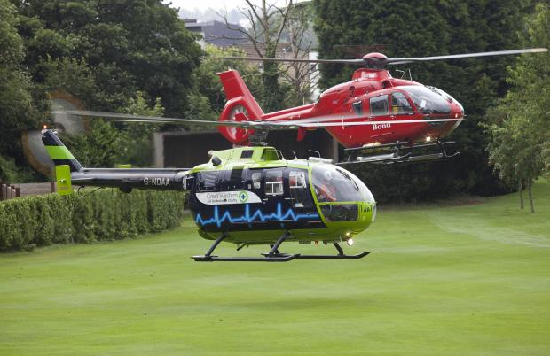 Gazette Series: The Great Western Air Ambulance Charity receives no government funding