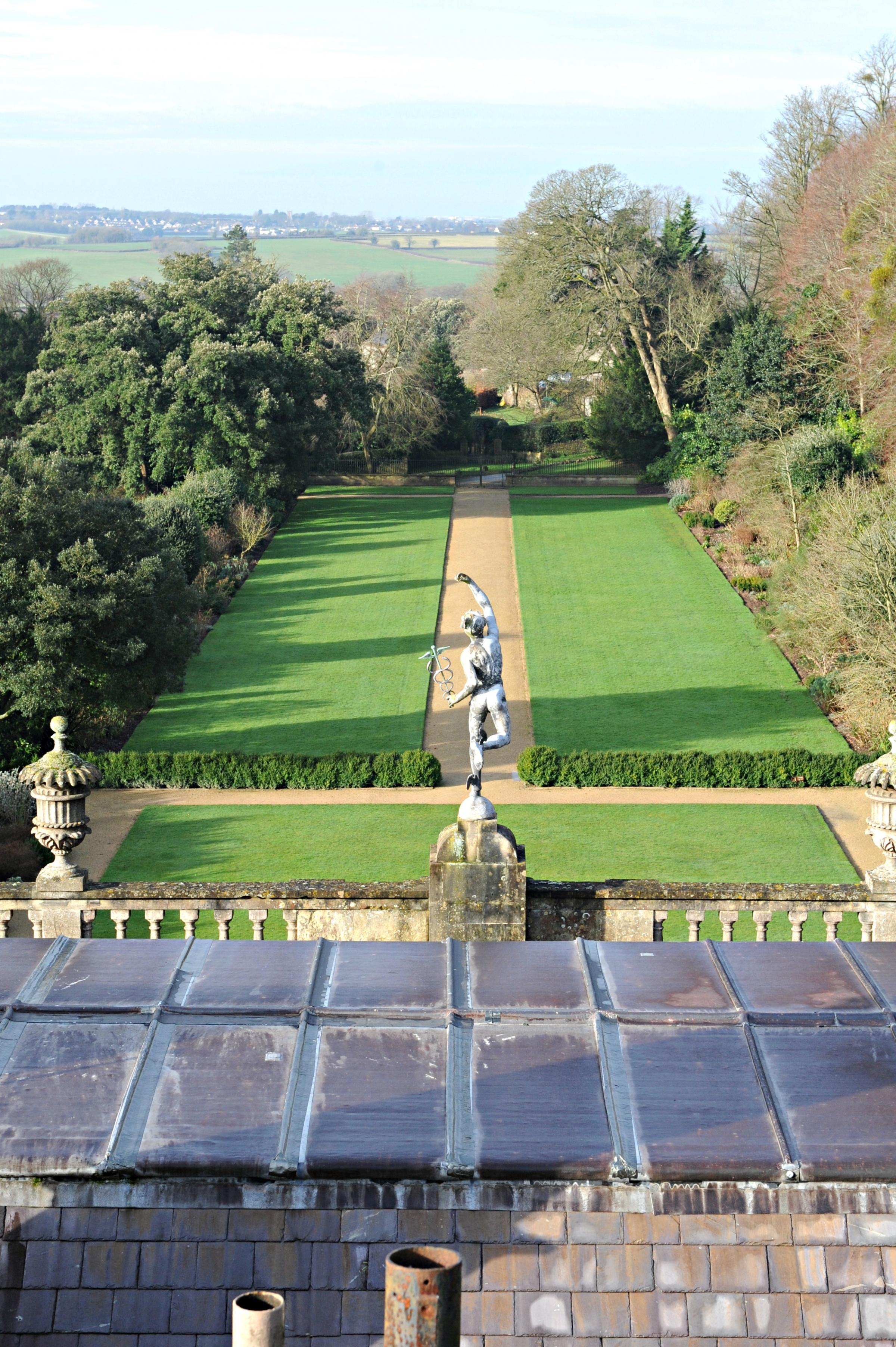 The gardens and house at Dyrham Park open this week
