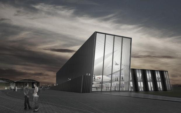 An artist's impression of Bristol Aerospace Centre
