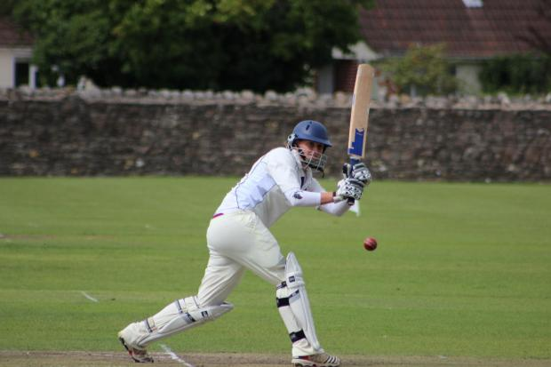 Alex Macdonald scored a century for Gloucestershire