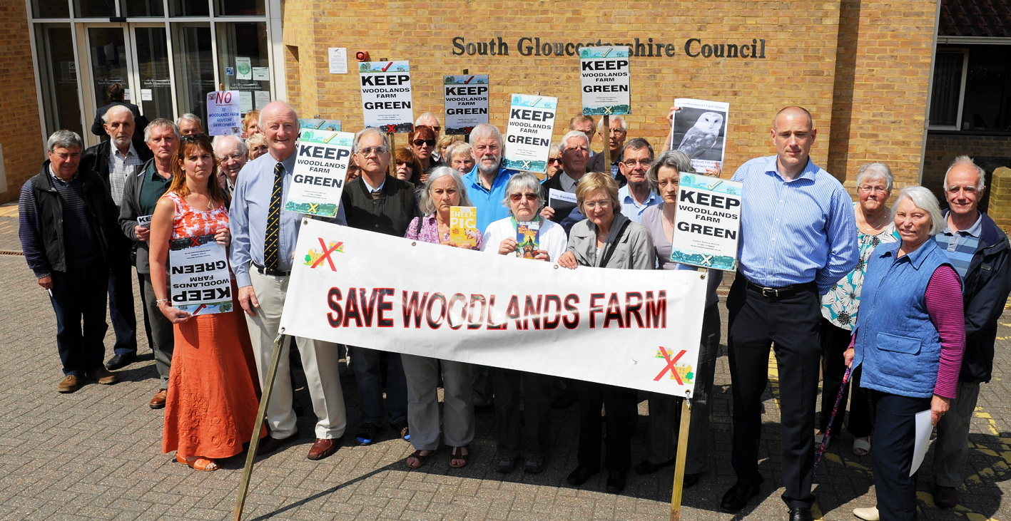 Coalpit Heath residents have campaigned bitterly to save Woodlands Farm