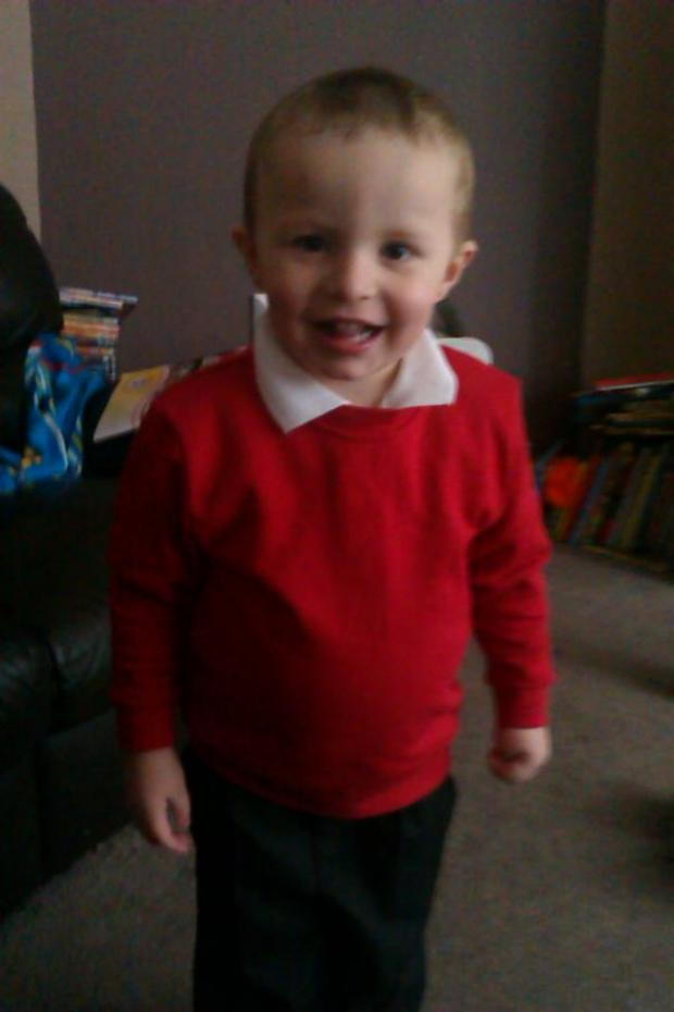 Gazette Series: Freddie Hussey, 3, who died in an ac