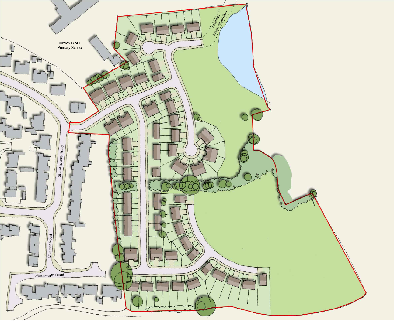 Plans for 100 homes next to Dursley Primary Academy to be unveiled this evening