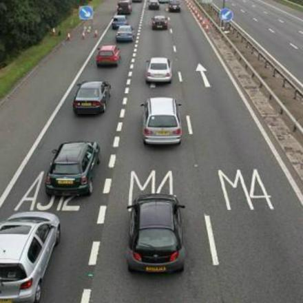 Motorists on the M4 between Bristol and Swindon have been targeted by a conman