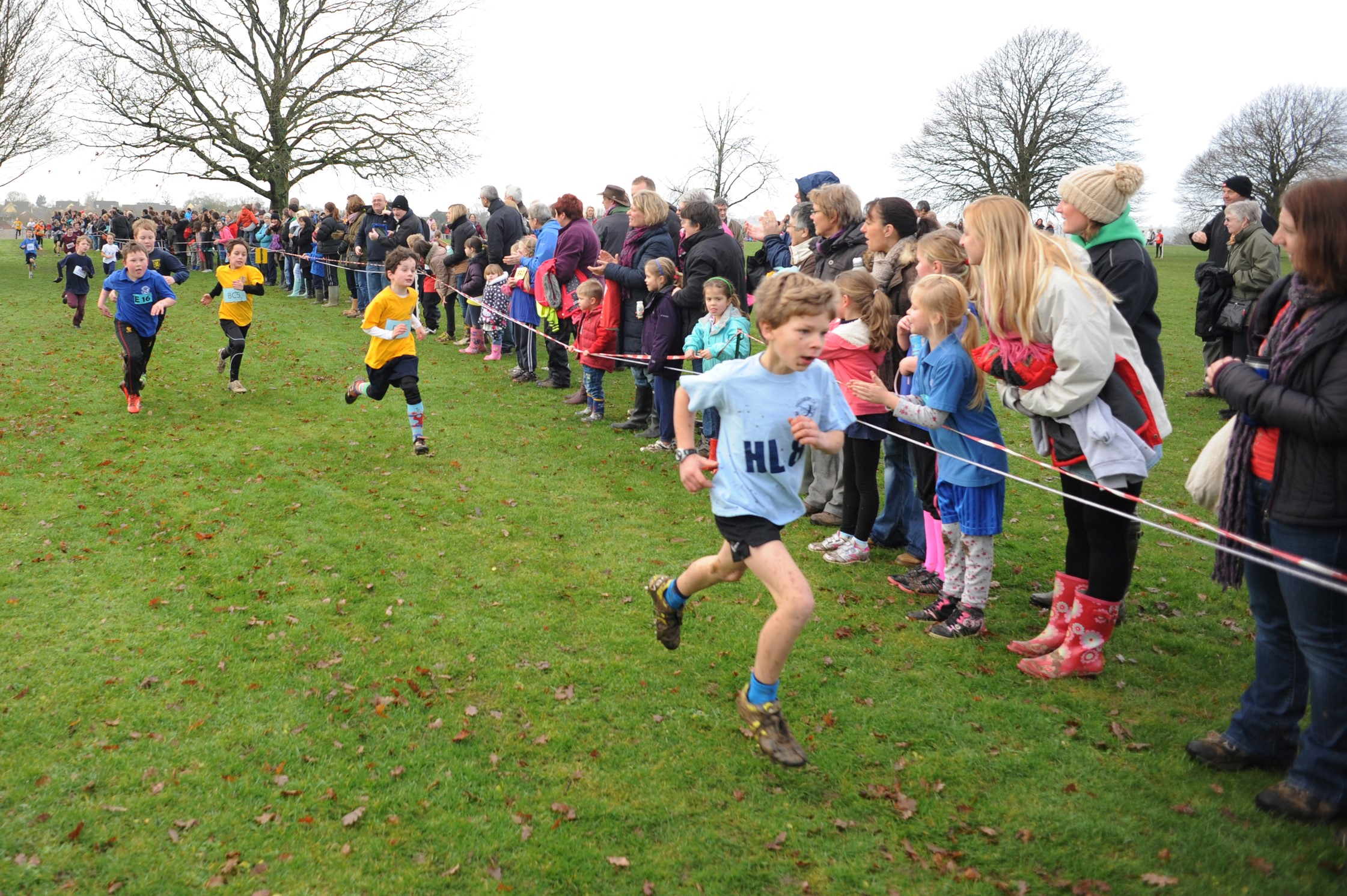 Athletics: Thrilling finale of District Primary School Cross Country Series at KLB