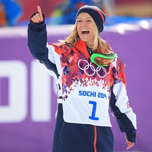 South Gloucestershire celebrates Jenny Jones' historic Olympic medal at Sochi