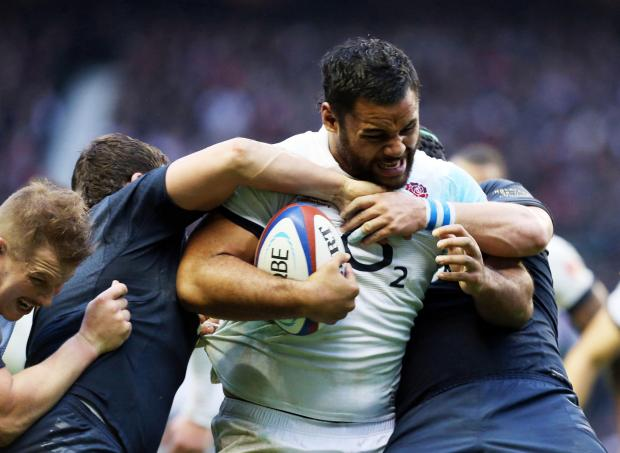 Billy Vunipola starred again for England in the Six Nations against Scotland