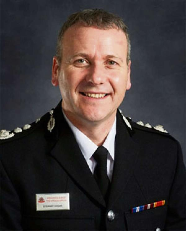 Gloucestershire's new fire chief Stewart Edgar