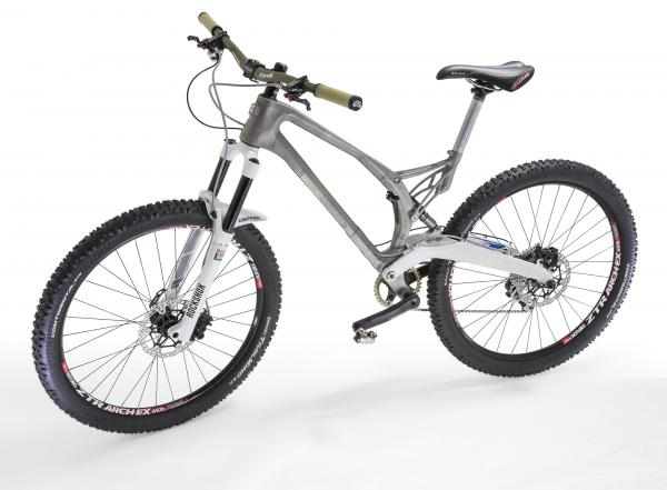 Renishaw builds world's first metal 3D printed bicycle