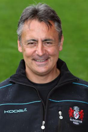 GONE: Gloucester coach Nigel Davies