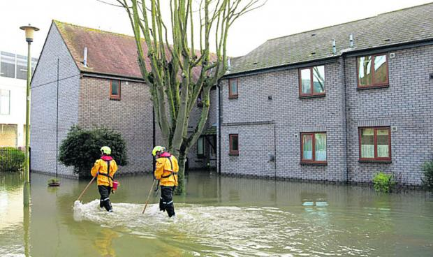 Soldiers sent in to help flood-hit families in Gloucestershire