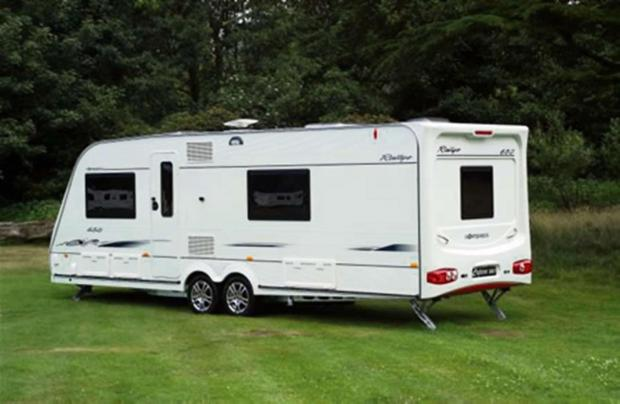 An Almondsbury man has been fined for keeping caravans on land (Stock pic)