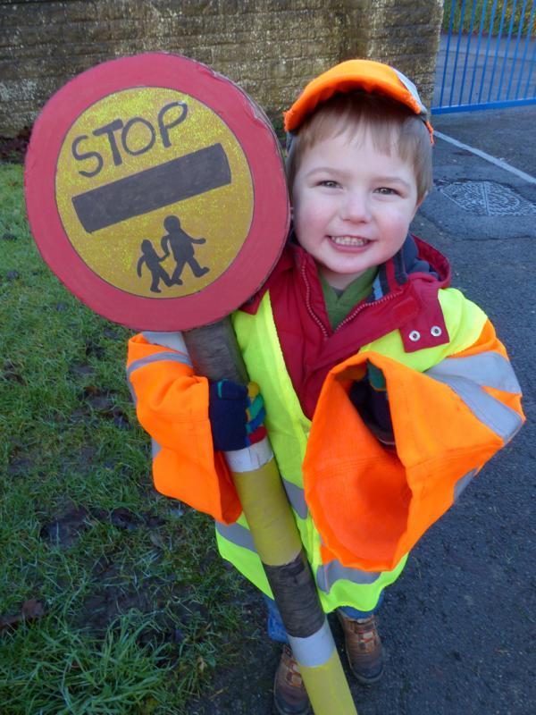 Three-year-old 'lollipop boy' teaches children road safety in ...