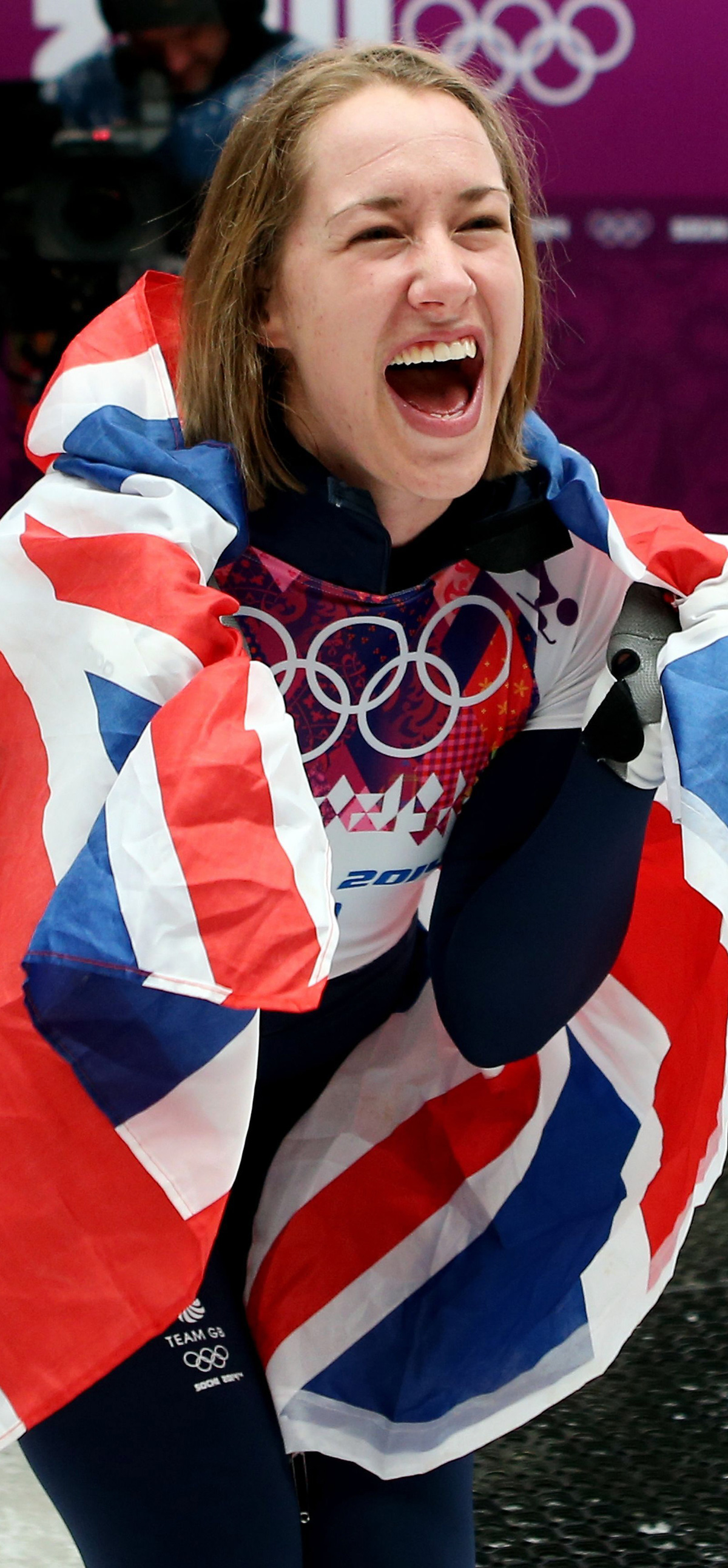 Lizzy Yarnold won Team GB's first gold medal at the Winter Olympics in Sochi
