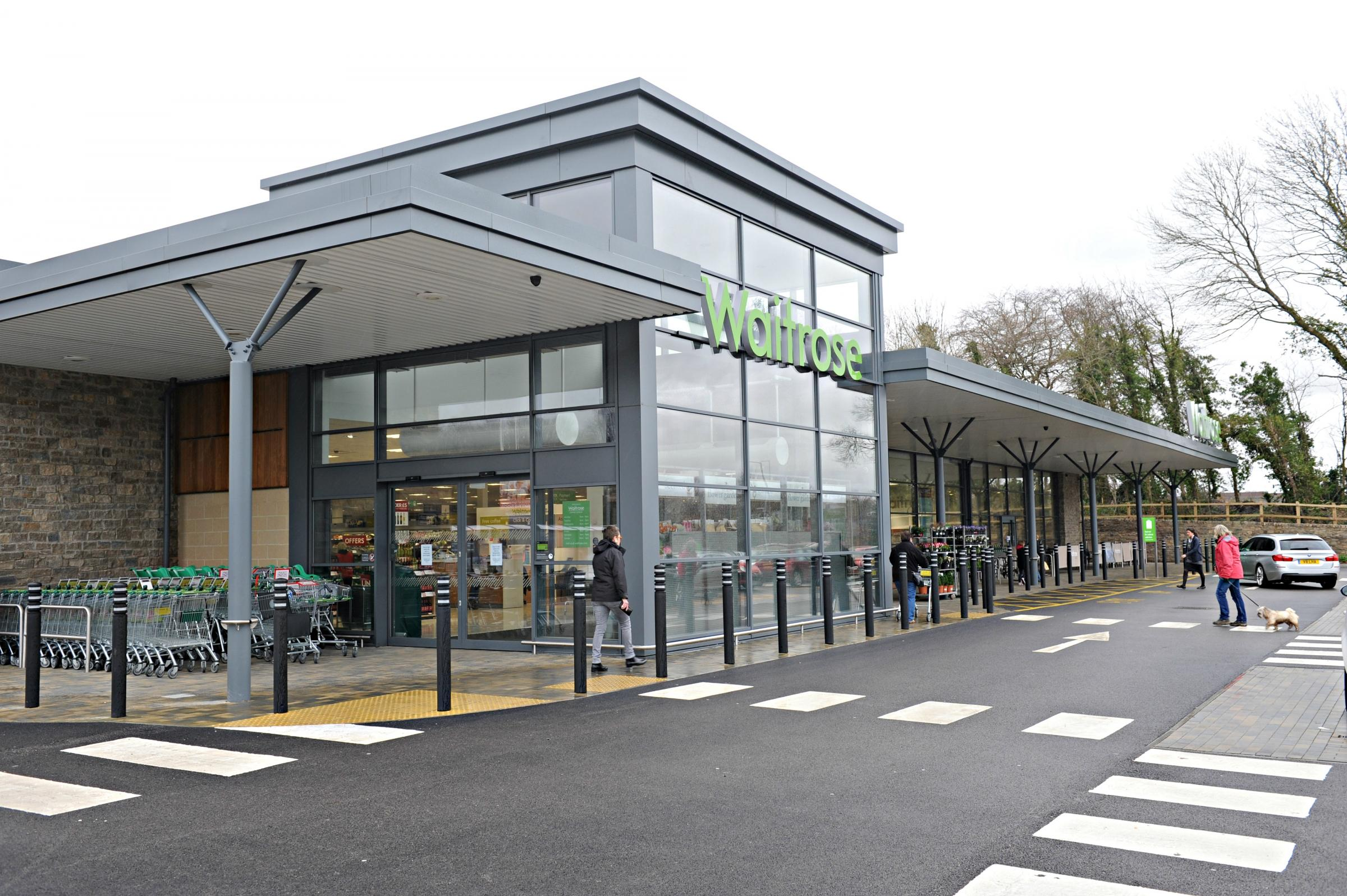 Chipping Sodbury's Waitrose store