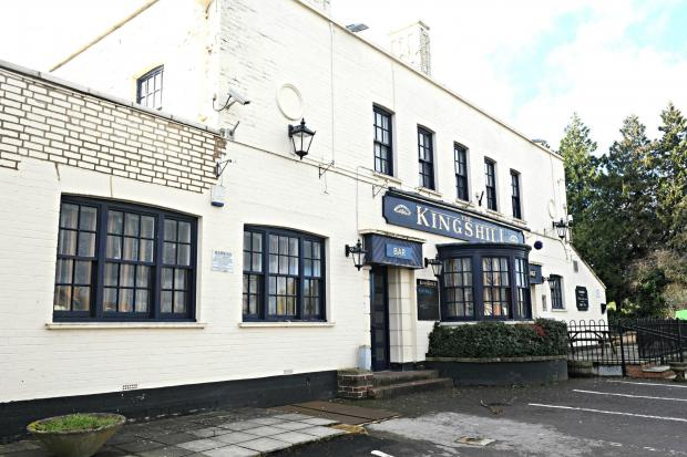 The Kingshill Inn in Dursley is currently closed for business
