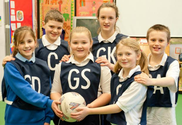 Gazette Series: Kingswood Primary School netball team. Picture by Matt Bigwood