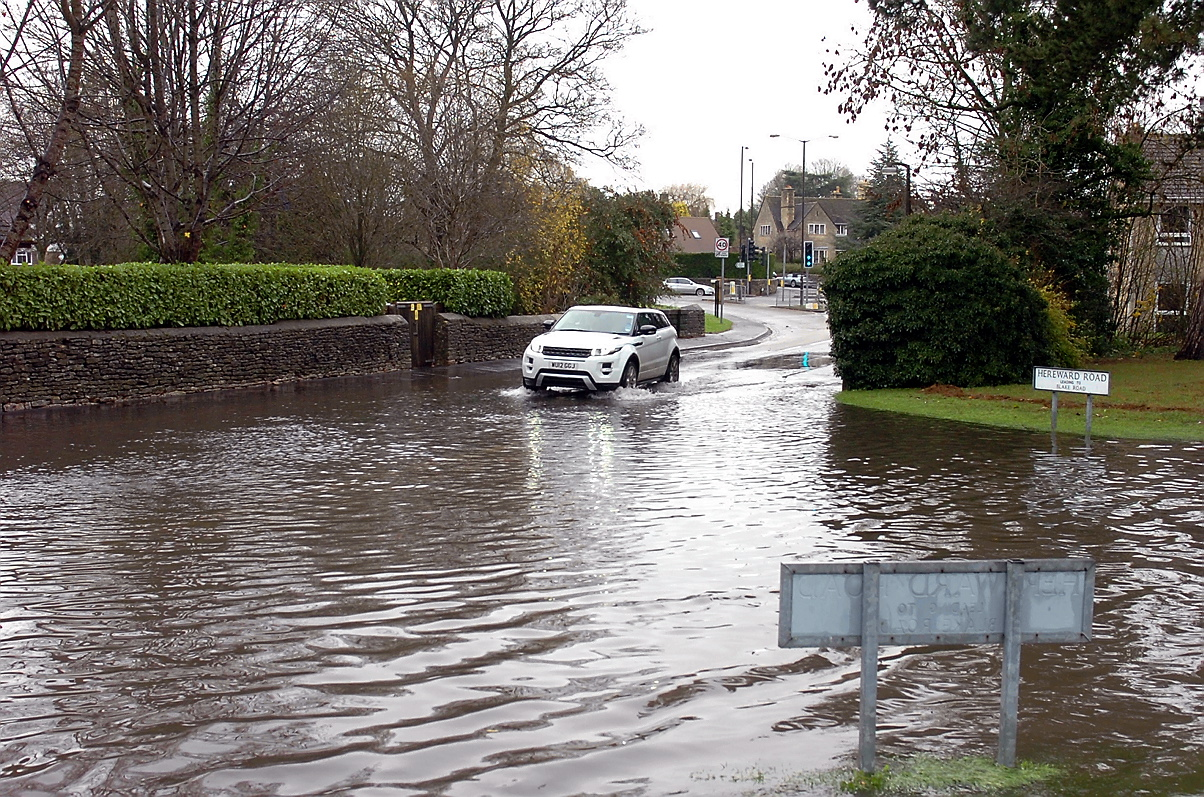 Cash injection for flood reduction measures in Gloucestershire